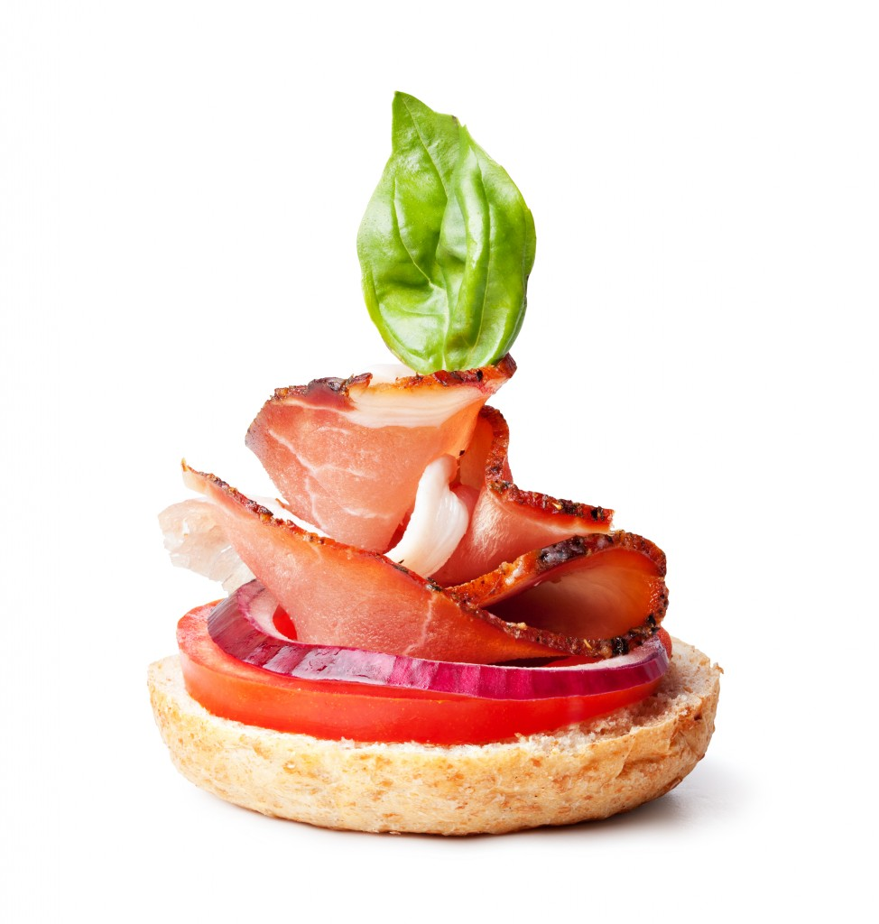 King solomon 39 s catering menu canapes for Mozzarella canape